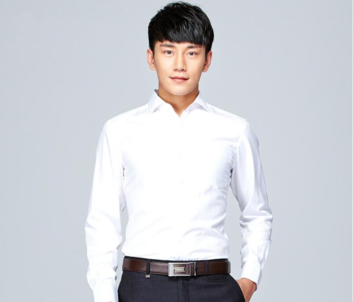男士高档衬衫定制_高档白色衬衫定制