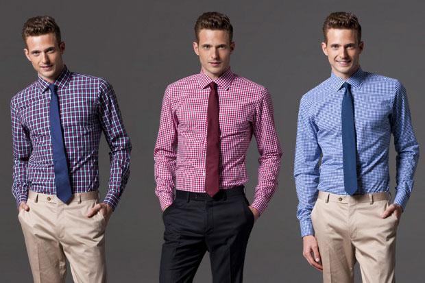 白色衬衫怎样搭配合适的领带?